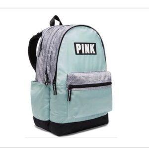 (SOLD)Pink Victoria Secret Campus backpack